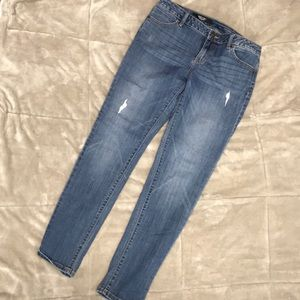 Simply Vera Wang distressed jeans